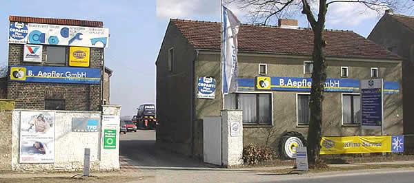 1.Kfz-Meisterbetrieb in Waltersdorf · B. Aepfler GmbH